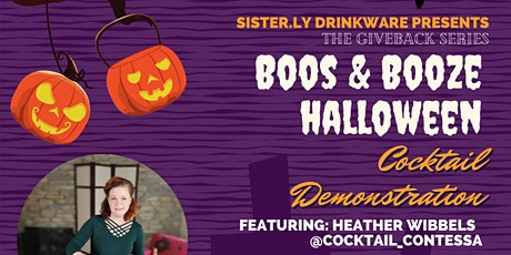 Sister.ly Drinkware GiveBack Series Halloween Event tickets