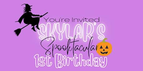 Skylar's Spooktacular 1st Birthday tickets