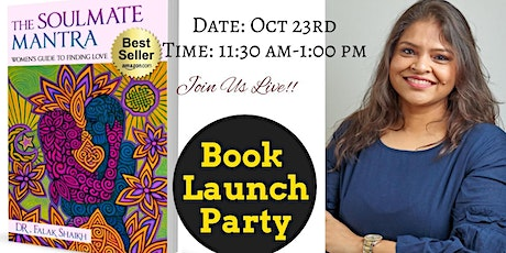 The Soulmate Mantra - Book Launch! You're Invited tickets
