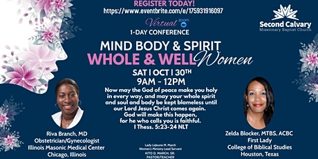 1-Day Virtual Conference (Mind, Body, and Spirit | Whole & Well Women ) tickets