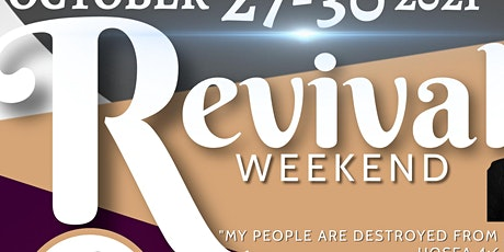 St. Timothy Community Church  REVIVAL & SUMMIT  Wed-Sat  October 27-30,2021 tickets