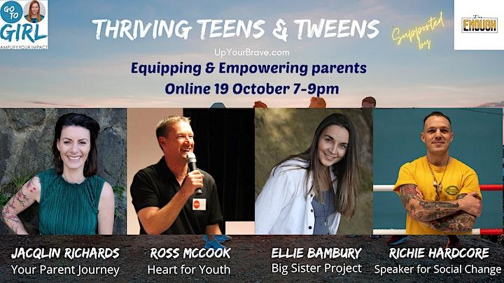 Thriving Teens & Tweens - Online Event image