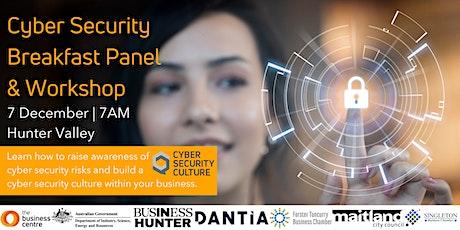 Cyber Security Breakfast Panel tickets