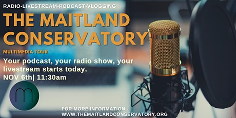 The Maitland Conservatory Multimedia Tour Fall 2021 tickets