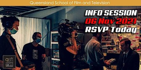 QSFT MEDIA & FILM SCHOOL CAREER INFO SESSION - Saturday, 6th November 2021 tickets
