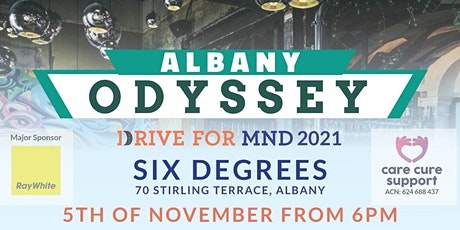 DRIVE FOR MND - Albany Odyssey  @ Six Degrees tickets
