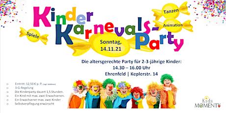 Kinderkarneval für kleine Kinder ( 2-3  Jahre) Tickets