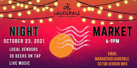 Drink Local, Shop Local Night Market tickets