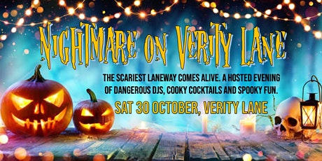 Nightmare of Verity Lane tickets