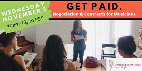 Get Paid: Negotiation & Contracts for Musicians tickets