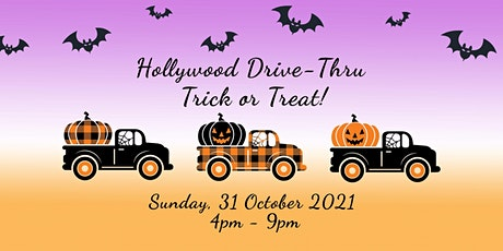 Hollywood Drive-Thru Trick or Treat tickets