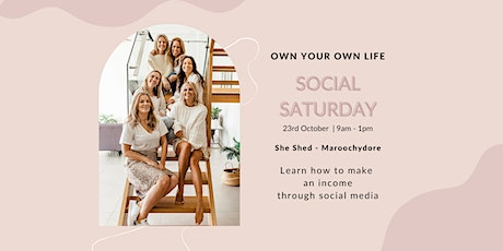 Juice Plus Social Saturdays: Learn to create an income through social media tickets