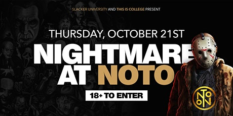 Nightmare At NOTO - Philly's Biggest 18+ Halloween Event tickets