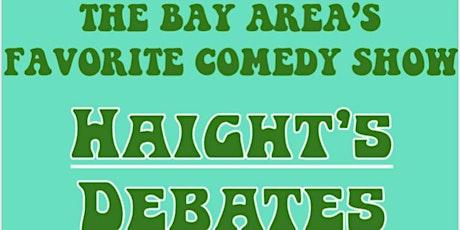 Haight's Debates tickets