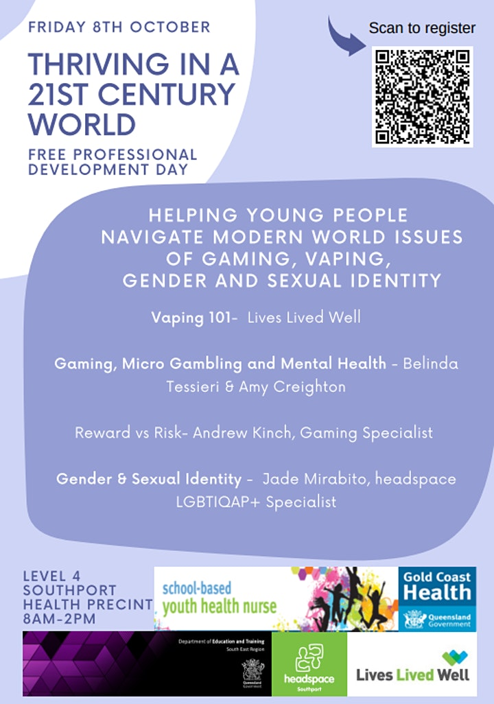 Thriving In A 21st Century World - Helping Young People Navigate It All image