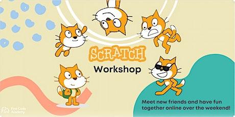 Online Scratch Workshop (Age 7+ Beginner friendly) tickets