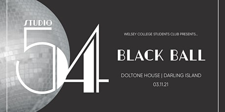 Wesley College Black Ball 2021 tickets