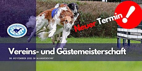 Vereins- und Gästemeisterschaft Tickets