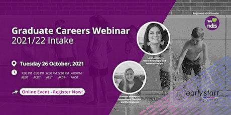 Early Start Australia - Graduate Careers Webinar - 2022 Intake tickets