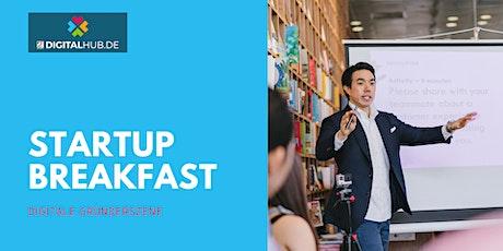 Startup Breakfast - by DIGITALHUB.DE Tickets