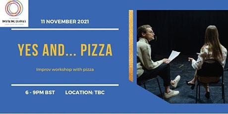 Improv and pizza night tickets