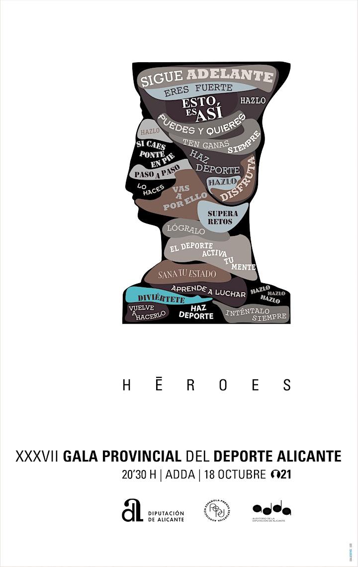Imagen de XXXVII GALA PROVINCIAL DEL DEPORTE ALICANTE