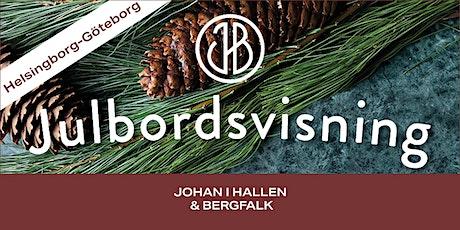 Johan i Hallen & Bergfalks Julbordsvisning Göteborg -FRÅN HELSINGBORG biljetter