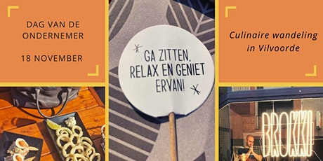"""Culinaire Wandeling """"A Taste of Vilvoorde"""" tickets"""
