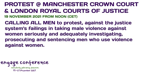 International Men's Day Protest at Manchester Crown Court tickets