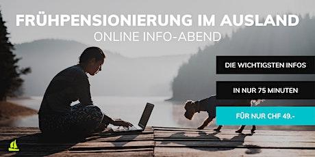 Frühpensionierung im Ausland Online Info-Abend Tickets