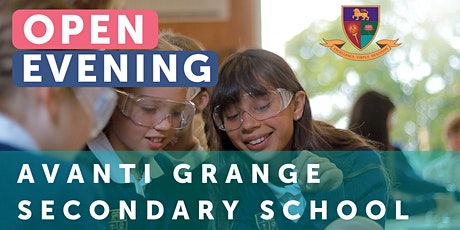 Avanti Grange Secondary School Open Evening tickets