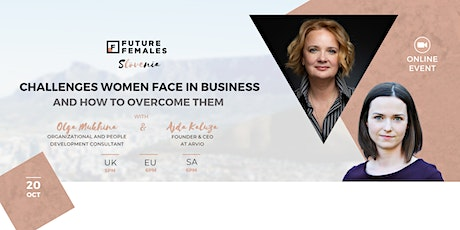 Challenges Women Face in Business & How to Overcome Them   FF Slovenia tickets