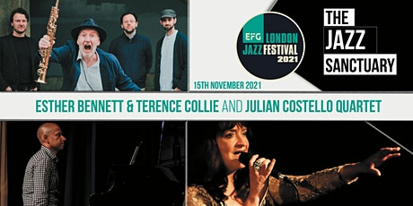 EFG London Jazz Festival 2021 -Esther Bennett & Julian Costello Quartet tickets