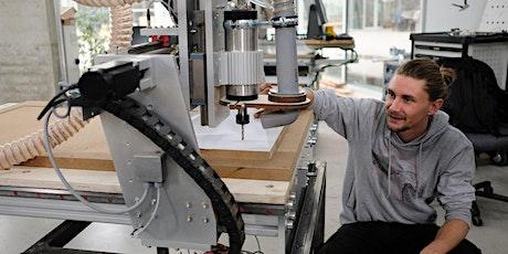 CNC Portalfräse - Holz Workshop Tickets