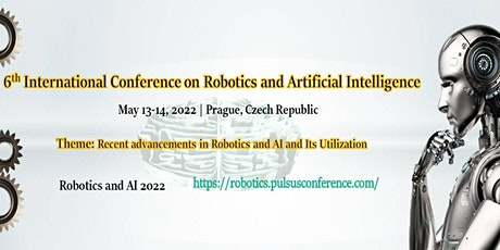 6th International Conference on Robotics and Artificial Intelligence tickets