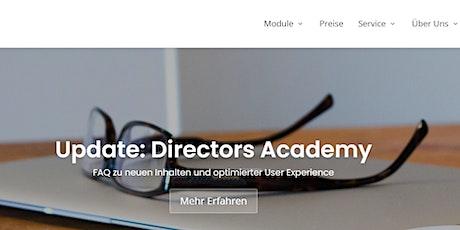 Directors Academy persönliche Führung Tickets