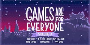 GamesAreForEveryone