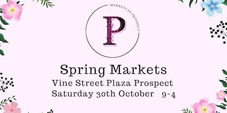 Spring Markets in Prospect tickets