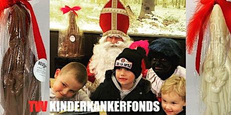 Chocoladeworkshop  SINT 25cm mét Sinterklaas  tvv Kinderkankerfonds 12,50€ tickets