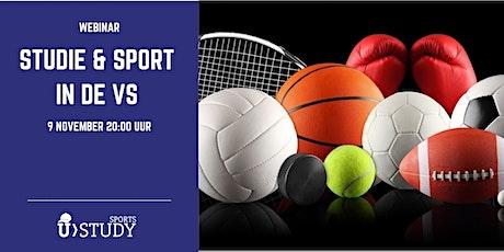 Gratis webinar Sport & Studie  in de VS tickets