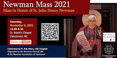 Newman Mass 2021: Mass in Honor of St. John Henry tickets