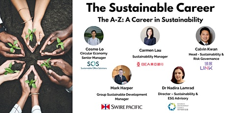 The Sustainable Career tickets