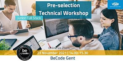 BeCode Gent – JFSD Selection Preparation Workshop