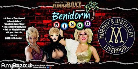 FunnyBoyz hosts BENIDORM BINGO, a Gin Themed Bingo night tickets