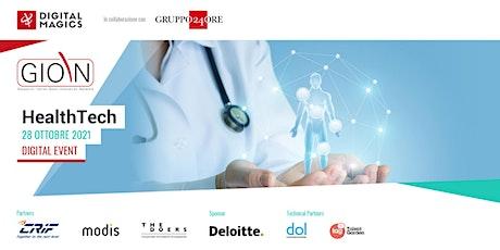 GIOIN HealthTech biglietti