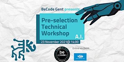 BeCode Gent – AI Selection Preparation Workshop