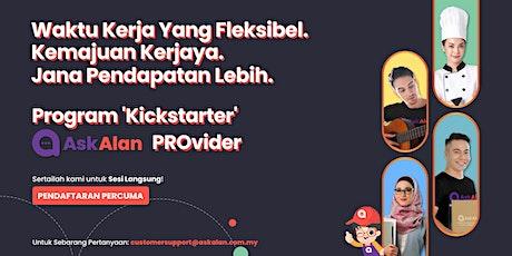 Program 'Kickstarter' AskAlan PROvider tickets