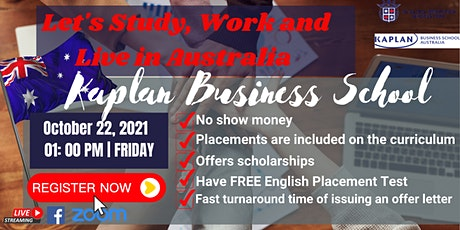 FREE WEBINAR: LET'S STUDY AND WORK IN AUSTRALIA tickets