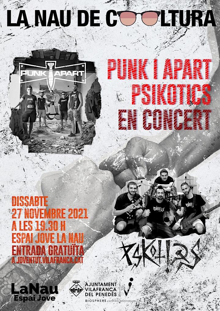 Imagen de La Nau de Cooltura -  Punk i Apart i Psicòtics en concert!