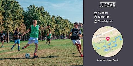 FC Urban Match AMS Sun 12:30 Vondelpark tickets